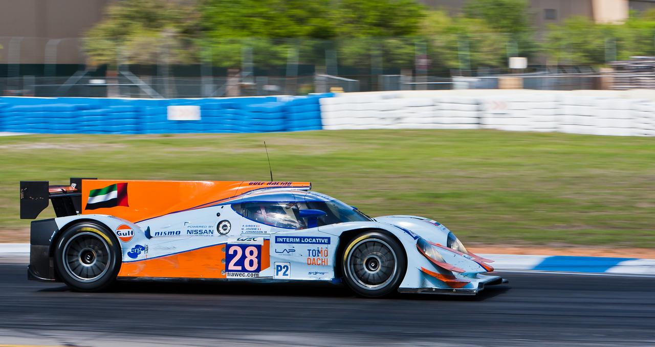 Gulf Racing Middle East WEC LMP2 Lola B12/80 Nissan Giroix/Jousse/Johansson