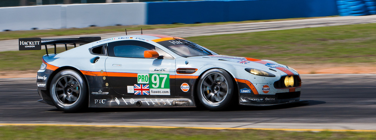 Aston Martin Racing WEC LMGTE Pro Aston Marin Vantage V8 Mucke/Fernandez/Turner