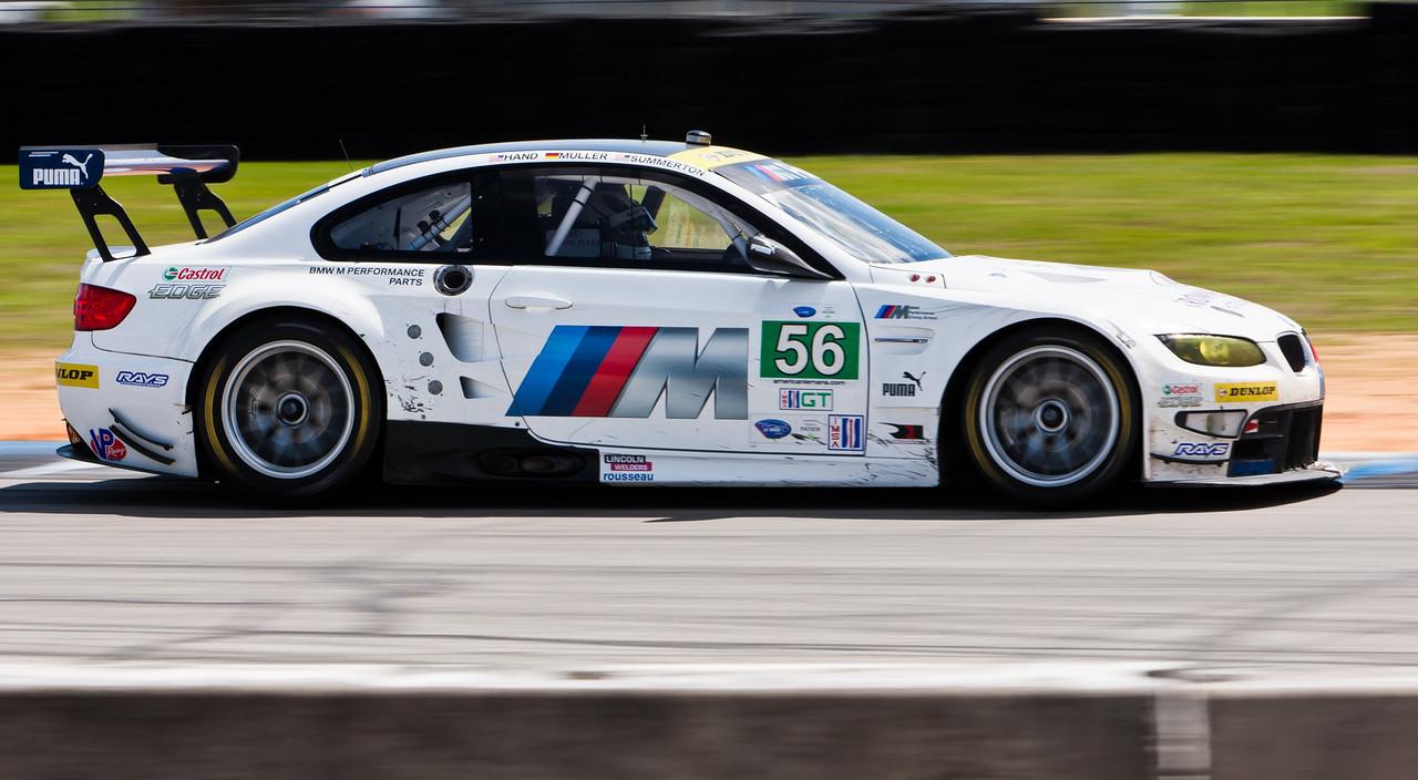 GT Class winner, BMW E92 M3 driven by Mueller/Summerton/Hand
