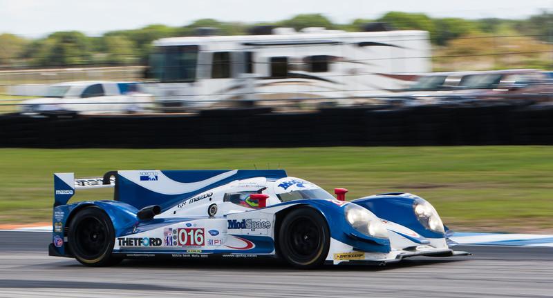 Steven Kane pilots Dyson Racing Team ALMS P1 Lola B12/60 Mazda Smith/Dyson/Kane