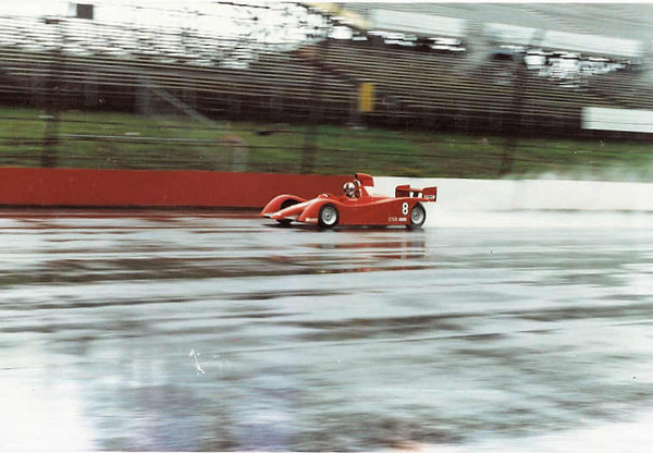 """The picture about is practice at Pocono, where it also set a record, it being the first time the north course was run for National purposes, lowering the regional record by 6-odd seconds despite only completing 1 timed lap, crashing when (of all things!) the throttle shaft in the throttle body seized--- in the rain, so the resulting tank slapper was a rude introduction to the high bank walls of the first turn. The following day, we couldn't fix the tub in time, so we were out of luck for the second National. It was fast, though.""<br /> <br /> Description and photo from <br /> <a href=""http://forums.autosport.com/lofiversion/index.php/t70037.html"">http://forums.autosport.com/lofiversion/index.php/t70037.html</a>"