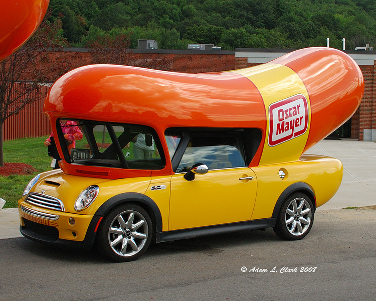 I don't think it is the official name, but I am calling this the cocktail wienermobile.