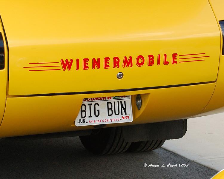 The wienermobile license plate