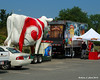 Don't you always tow around a large fiberglass cow?