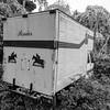 Abandoned horse box
