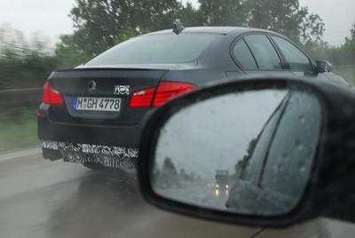 BMW M5 (F10) prototype