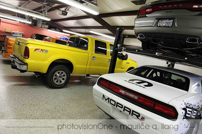 "The ""pickup truck garage""."