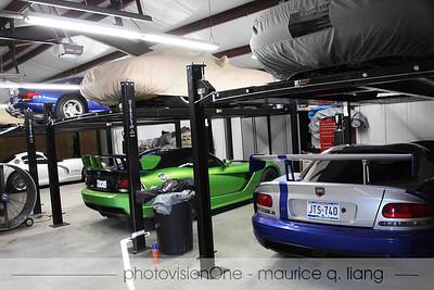 Wayne's garage.