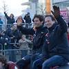 Mark Webber and Christian Horner