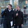 Jake Humphrey and David Coultard