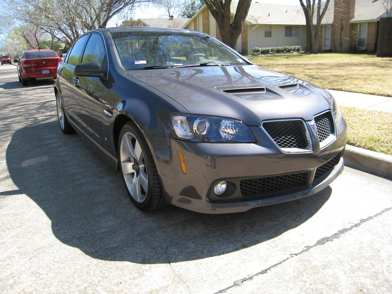 2009 Pontiac G8 GT - Magnetic Gray Metallic - March 1, 2009