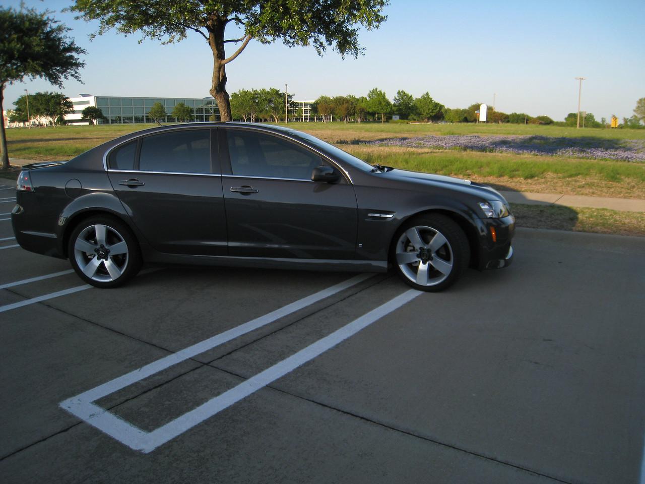 2009 Pontiac G8 GT - Magnetic Gray Metallic - April 20, 2009