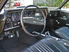 "Automatic, Factory Air, AM/FM Stereo Radio, Carpeted Floor Mats Embroidered With ""Chevelle"", Bucket Seats, Console, Instrument Panel Lights Work, All Guages And Knobs Are In Great Shape, No Cracks In Dash"