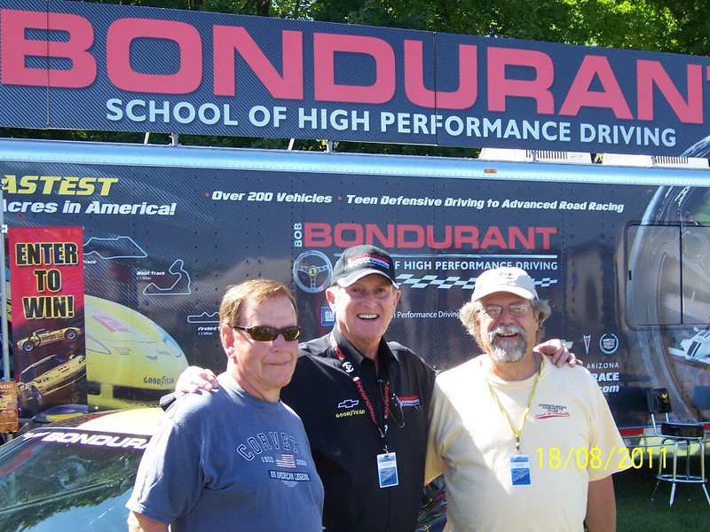 Joe Pepin, Bob Bondurant, Paul Yeager l to r