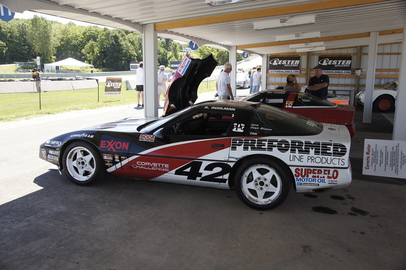 Mike Yager Corvette Challenge