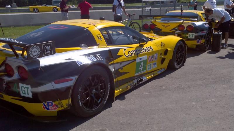 Corvette Racing team were Sunday pace cars