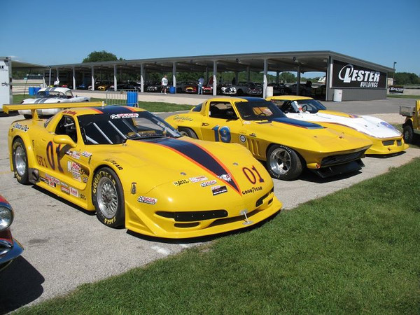 Jim Bradley C5 TA & GT1 and Ray Mulacek C2 AP & C3 GT1