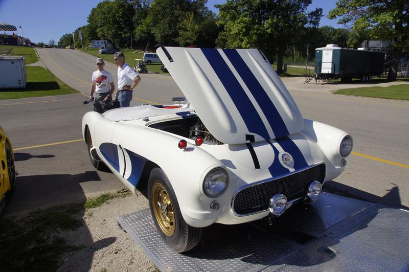 Chuck Ungurean's 1956 Fitch-Hansgen Sebring winner