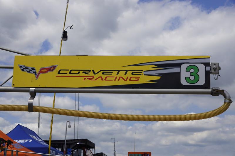 Corvette Racing pit rig