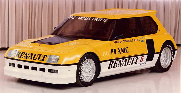 Dick Teague Renault 5 Turbo Indy Pace car by PPG