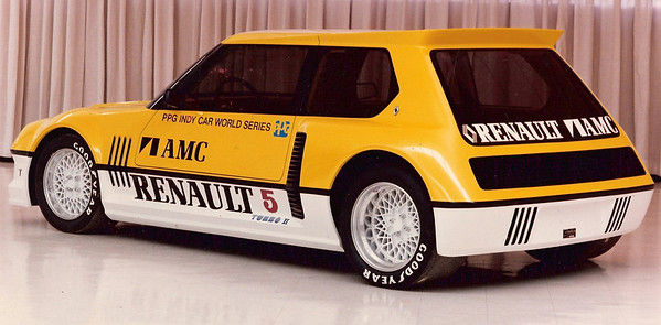 Renault 5 Turbo PPG Pace Car. Designed and made by Dick Teague