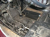 transmission well prior to detailing and removal of stick, brake lever, and steering column