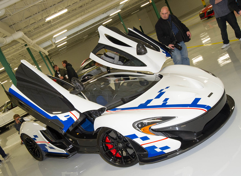 Mclaren P1 dedicated to Alain Prost