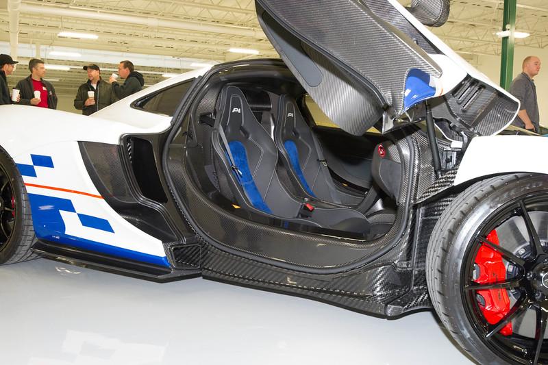 Mclaren P1 dedicated to Alain Prost