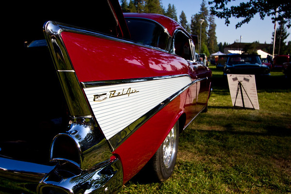 Roamin Angels Grass Valley Car Show