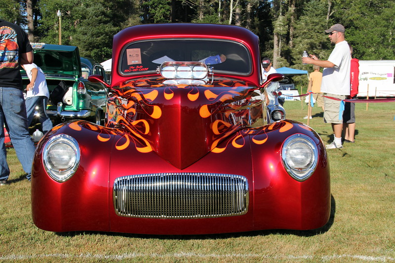Brian Leetch 1941 Willys Coupe, Camas, WA