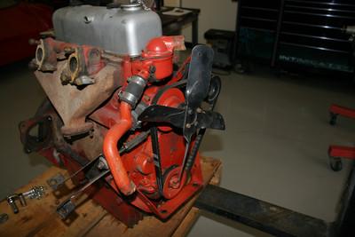 1955 MGTF Motor 9 13 09 008