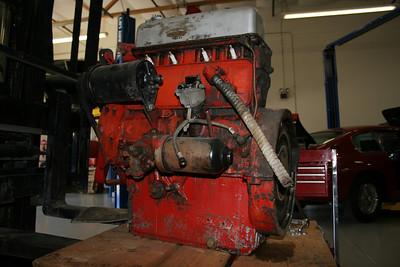 1955 MGTF Motor 9 13 09 010