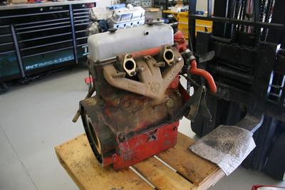 1955 MGTF Motor 9 13 09 001