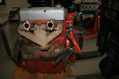 1955 MGTF Motor 9 13 09 007