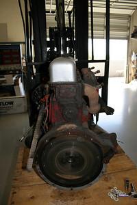 1955 MGTF Motor 9 13 09 003
