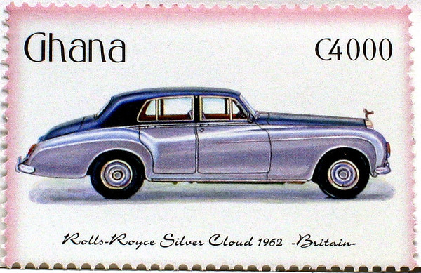 Rolls-Royce Stamps