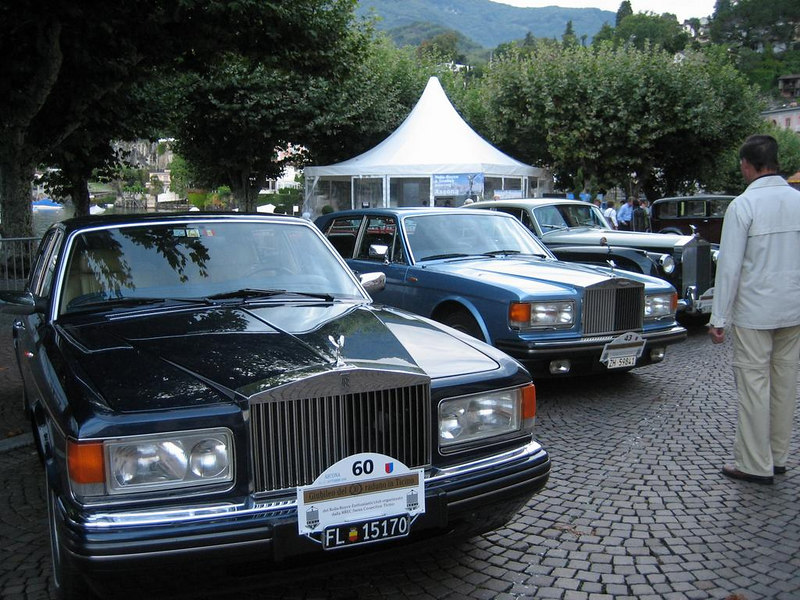 Modern Rolls Royces