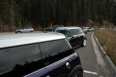 The Colorado MINIs didn't mind driving the pass again.