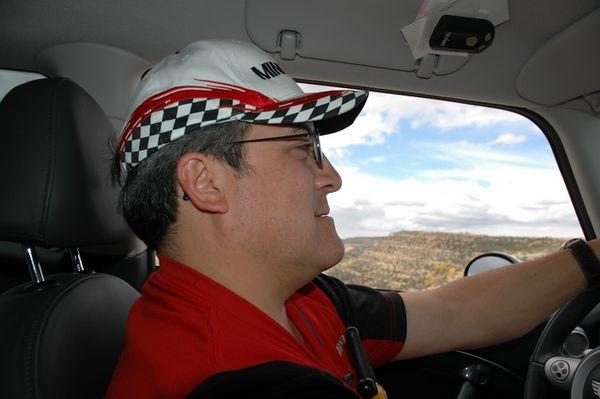 Rick sporting his MINI5280 cap.