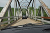 One lane bridge in Hwy 123 south of Harrison, AR.