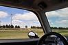 Wind power generators along I-70 in western Kansas. We're heading east, toward Salina.