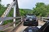 One lane bridge on Hwy 123. Run For The Ozarks, Arkansas.