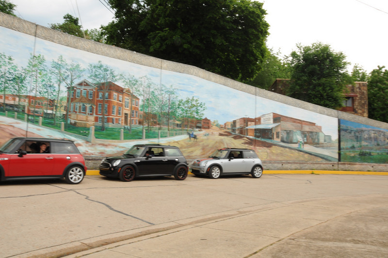 More of the Harrison, AR historic mural.