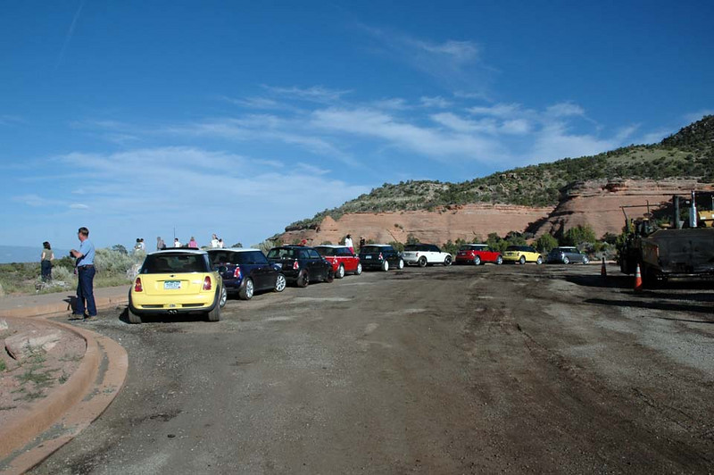 """Stopped along the beautiful Rim Rock Drive  <a href=""""http://coloradonma.org/rimrock-map.htm"""">http://coloradonma.org/rimrock-map.htm</a>) in Colorado National Monument, just minutes from Palisade and Grand Junction. Friday evening."""