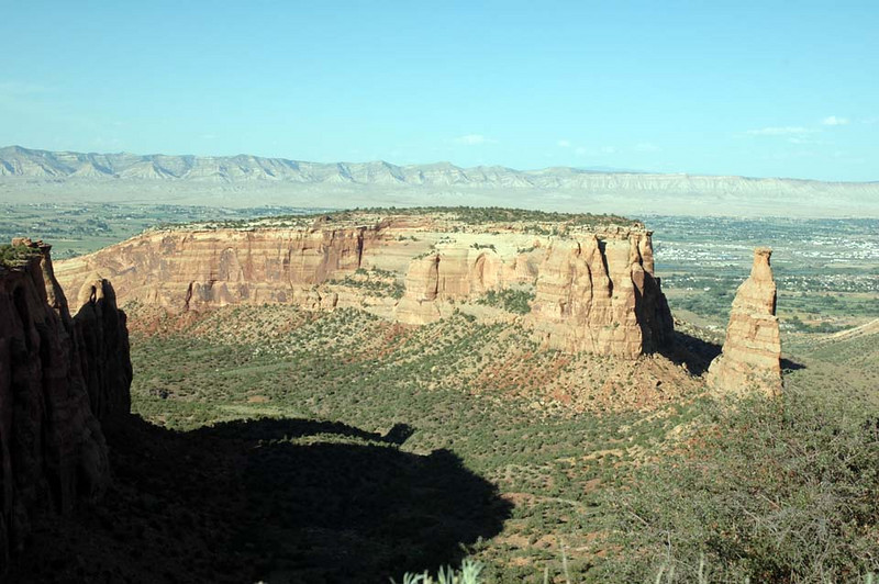 Colorado National Monument along Rim Rock Drive.
