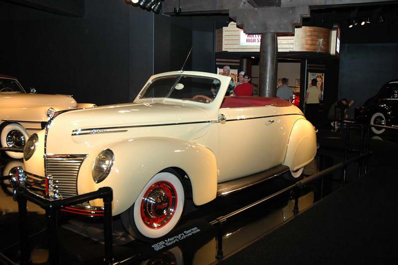 1939 Mercury Series 99A Sport Convertible.