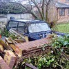 March 2018. The Triumph Herald estate was never very common in the 1960s, so to see this one under lots of greenery and rubble in the Totton area of Southampton was quite a surprise.