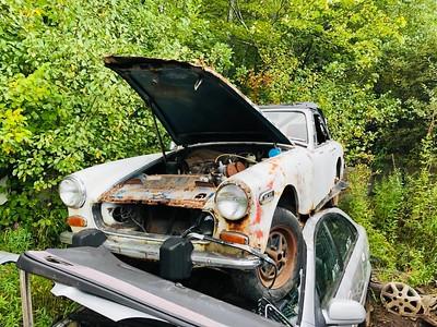 MG Midget Holland's Auto Parts, Billerica, MA