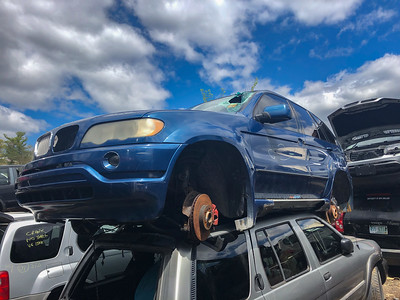 BMW X5 4.4i with Aero Package Holland's Auto Parts, Billerica, MA