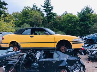 Saab 9-3 cabrio Holland's Auto Parts, Billerica, MA